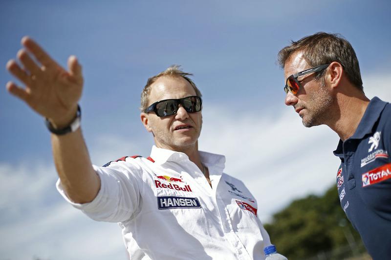 Sébastien Loeb, Team Peugeot Hansen ve Kenneth Hansen
