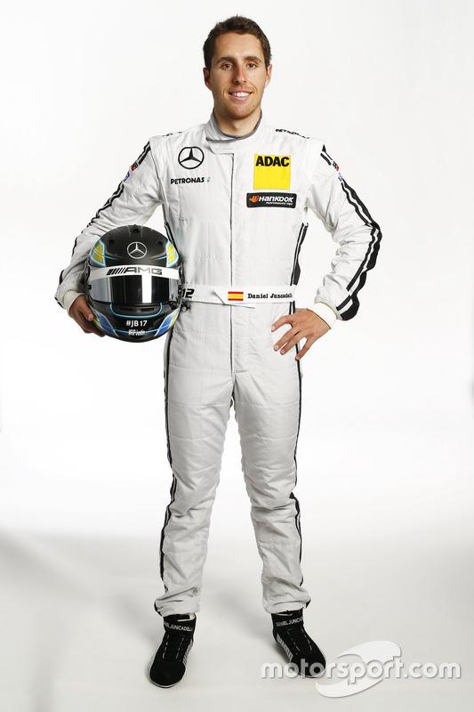 #12: Daniel Juncadella, HWA-Mercedes
