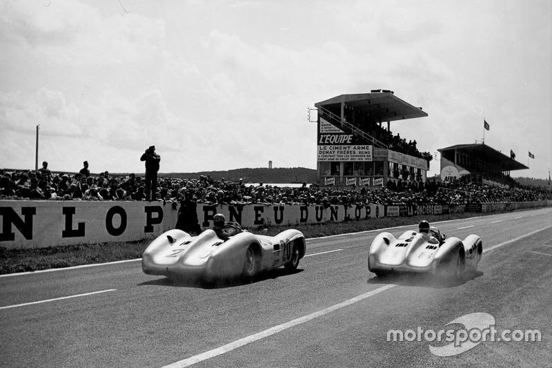 Karl Kling y Juan Manuel Fangio, Mercedes-Benz W 196 R