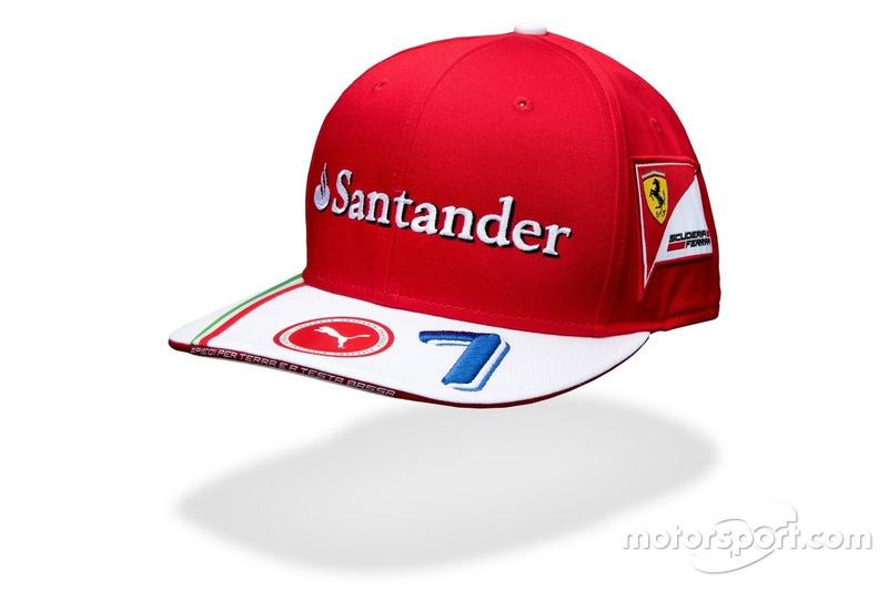 Casquette Scuderia Ferrari de Kimi Räikkönen
