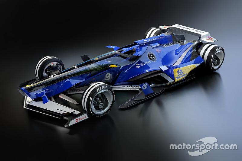 Концепт Sauber 2030