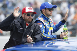 Austin Dillon, Richard Childress Racing Chevrolet, Chase Elliott, Hendrick Motorsports Chevrolet