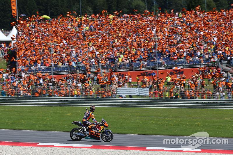 Mika Kallio, Red Bull KTM 2017 MotoGP-Bike Demonstrationsrunden