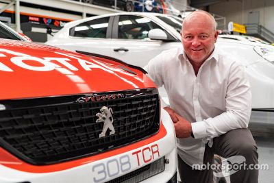 Jason Bargwanna Peugeot announcement