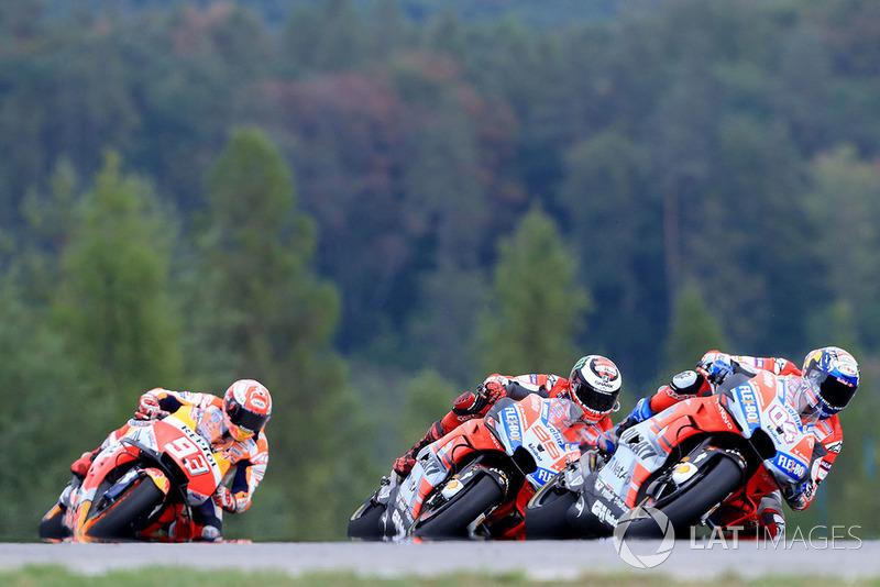 GP de République Tchèque : Marc Márquez (Repsol Honda Team), 3e