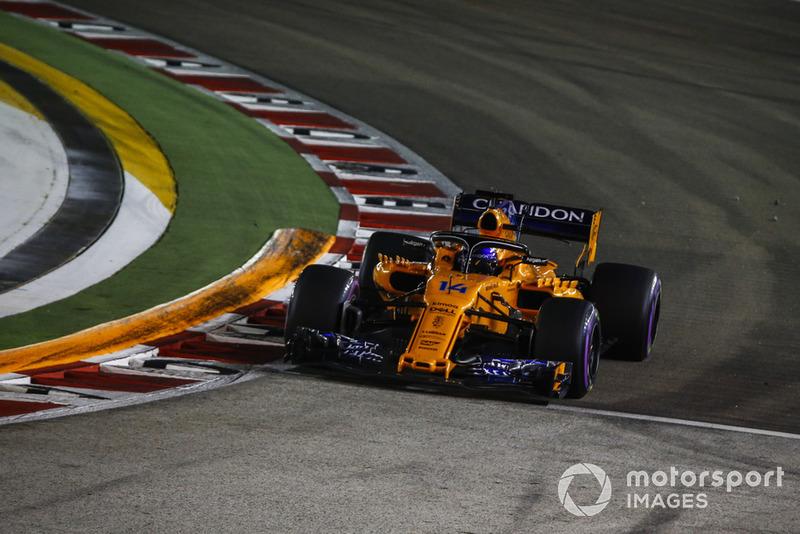 9 місце — Фернандо Алонсо, McLaren