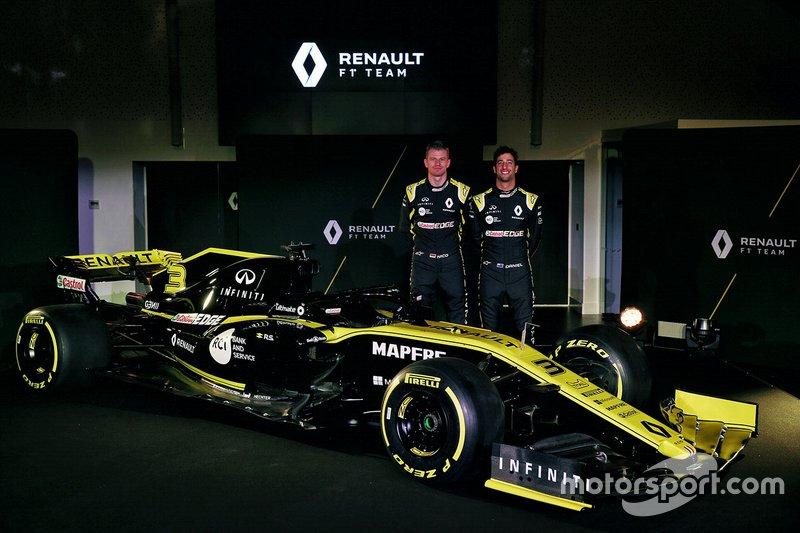 Daniel Ricciardo, Renault Sport F1 Team, Nico Hulkenberg, Renault Sport F1 Team