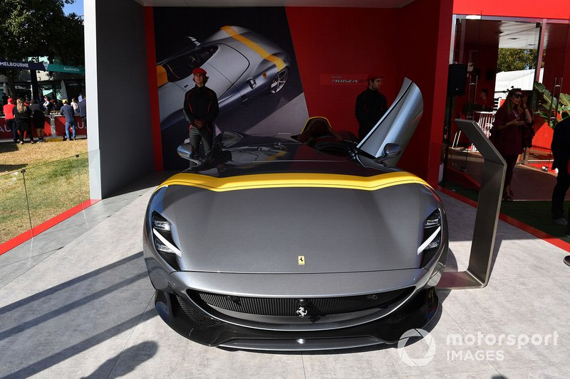 Ferrari Monza SF all'Albert Park