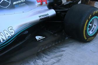Détails techniques de la Mercedes AMG F1 W09