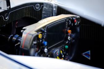 Sauber Cockpit Detail