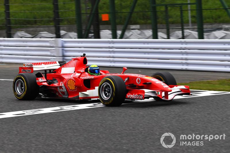 Felipe Massa, Ferrari Leyendas F1 30 Aniversario vuelta de Demostración