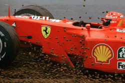 Ausritt: Michael Schumacher, Ferrari F1 2001
