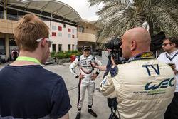 Pietro Fittipaldi, Porsche Team with media