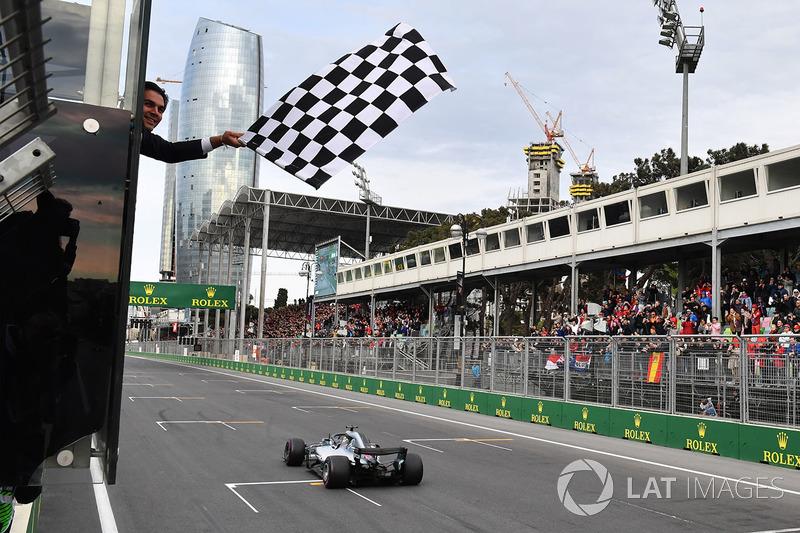 Гран Прі Азербайджану. Переможець - Льюіс Хемілтон