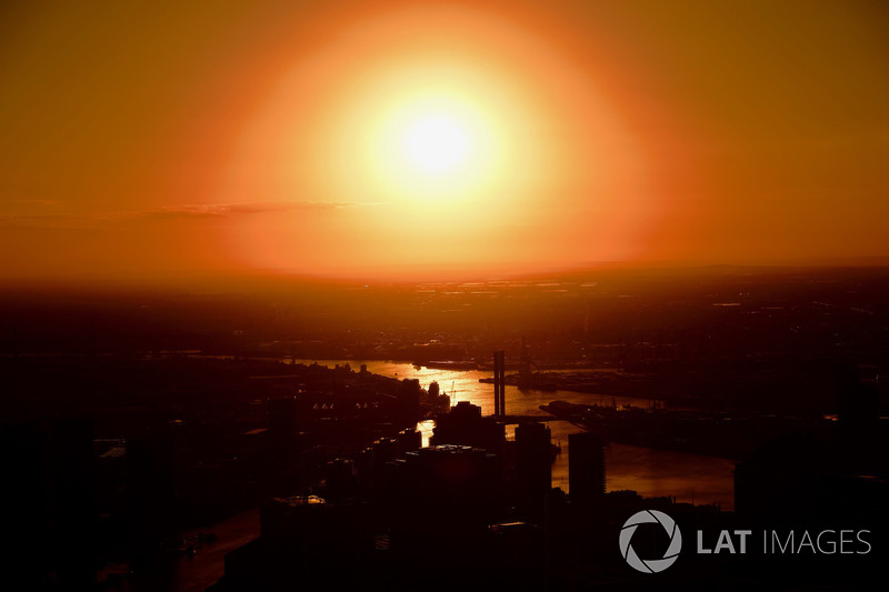 Atmosfer, gün batımı