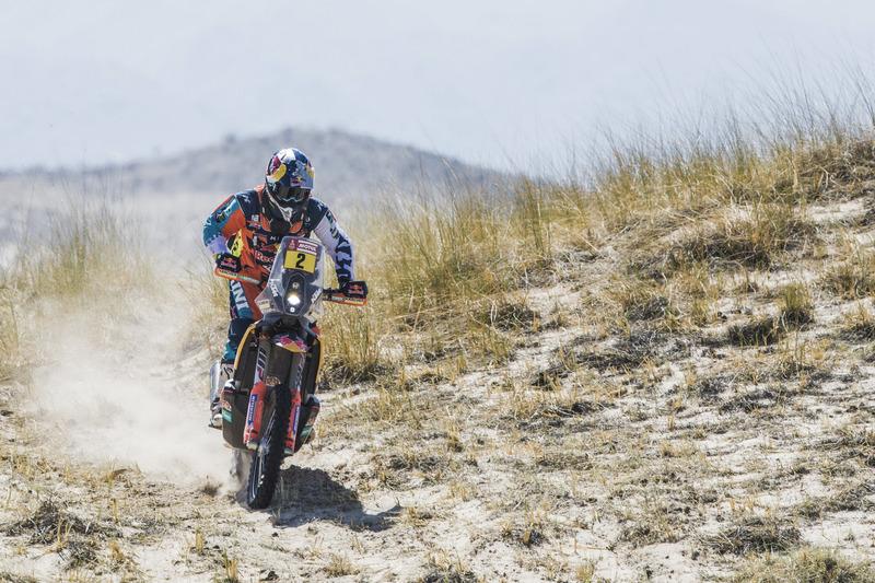 Победитель в зачете мотоциклов: Маттиас Валькнер