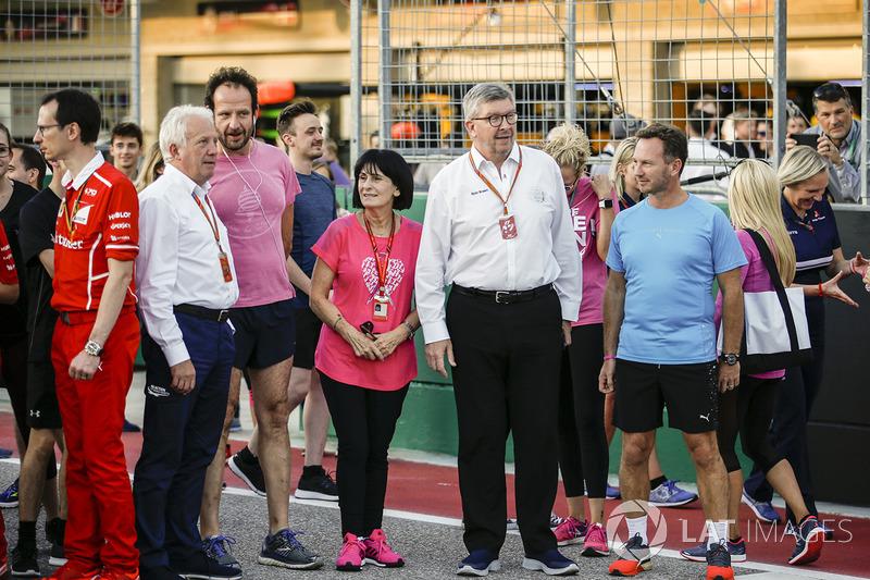 Спортивний директор Ф1 Росс Браун, керівник Red Bull Racing Крістіан Хорнер