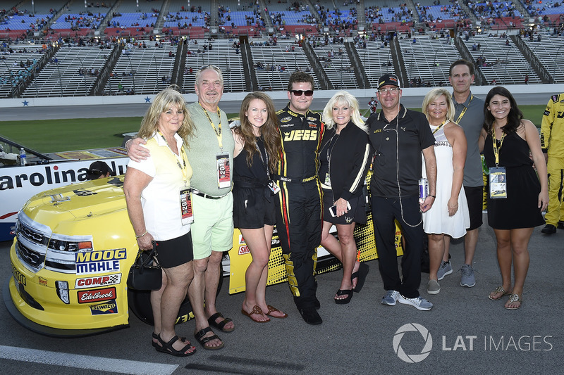 Cody Coughlin, GMS Racing, Chevrolet Silverado Jeg's.com, with guest