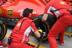 Ferrari member practice pitstops