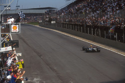 Sieg für Nigel Mansell, Williams FW14B
