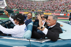 Emerson Fittipaldi, drivers Alejandro Soberon, President and CEO for CIE Group and President of Form