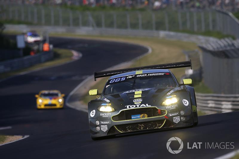 4. #007 Aston Martin Racing Aston Martin Vantage GT3: Maxime Martin, Marco Sorenson, Nicki Thiim, Darren Turner