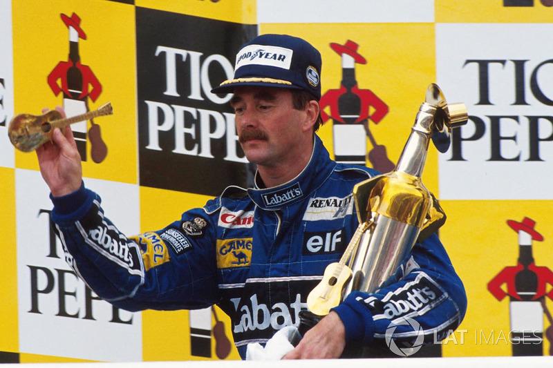 7º Nigel Mansell (31 victorias)