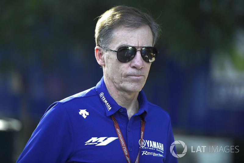 Lin Jarvis, Yamaha Factory Racing Managing Director