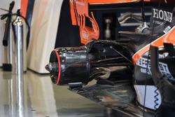 McLaren MCL32: Aufhängung und Unterboden