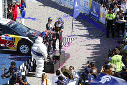 Podium: Winners Sébastien Ogier, Julien Ingrassia, M-Sport Ford WRT Ford Fiesta WRC