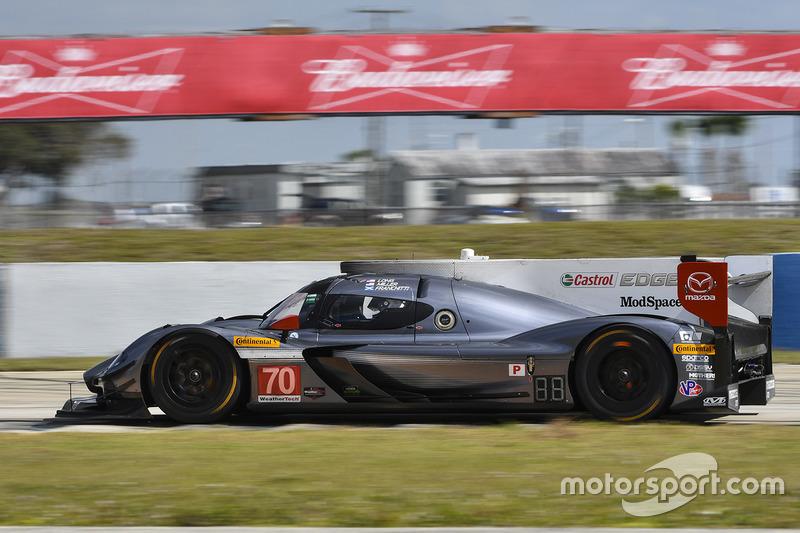 #70 Mazda Motorsports, Mazda Prototype: Joel Miller, Tom Long, Marino Franchitti