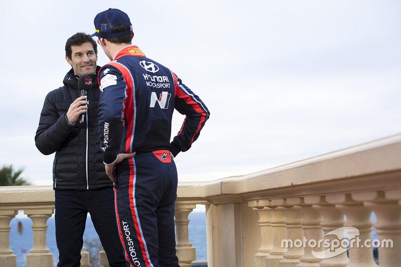Thierry Neuville, Hyundai Motorsport, Mark Webber