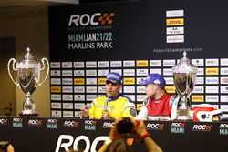 Press Conference: Juan Pablo Montoya and Tom Kristensen