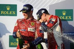 Podium LMGTE Pro : les vainqueurs James Calado, Alessandro Pier Guidi, AF Corse