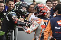 Ganador, Marc Márquez, Repsol Honda Team, segundo, Jonas Folger, Monster Yamaha Tech 3