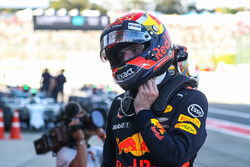 Max Verstappen, Red Bull Racing celebrates in parc ferme