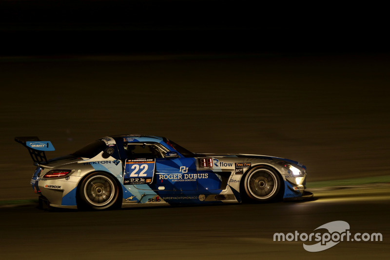 #22 Gravity Racing International Mercedes SLS AMG GT3: Vincent Radermecker, Gerard Lopez, Christian
