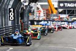 Sam Bird, DS Virgin Racing; Lucas di Grassi, ABT Schaeffler Audi Sport