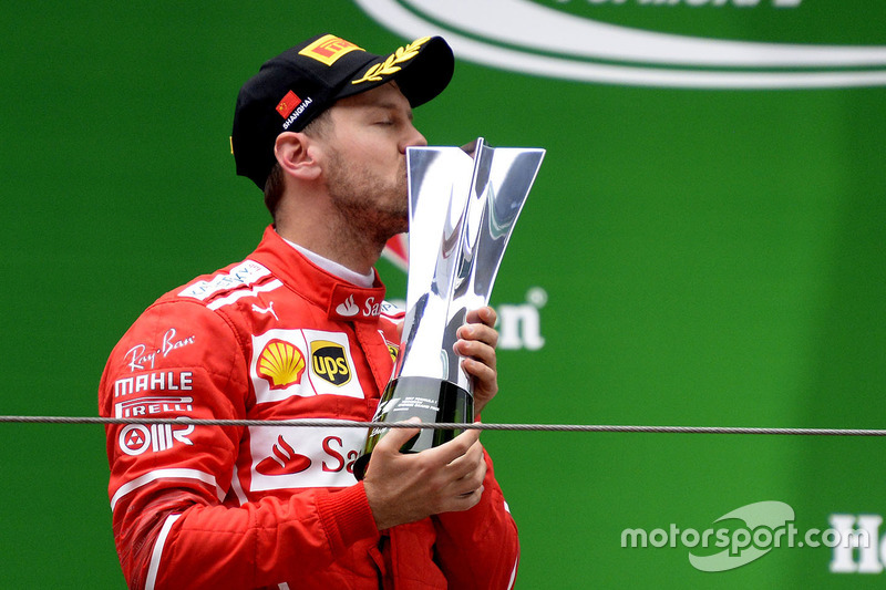 6 puntos: Sebastian Vettel