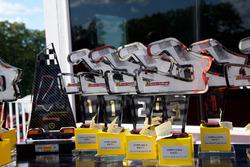 2017 Ferrari Challenge NA Road America trophies