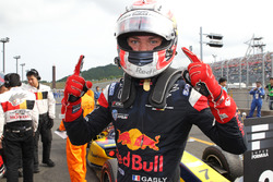 Pierre Gasly, Mugen, Celebrate His First Win