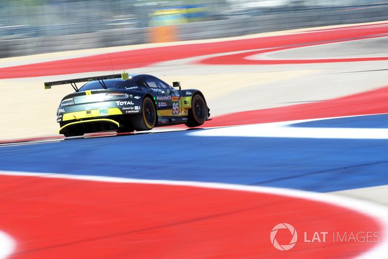 #95 Aston Martin Racing Aston Martin Vantage: Нікі Тім, Марко Соренсен