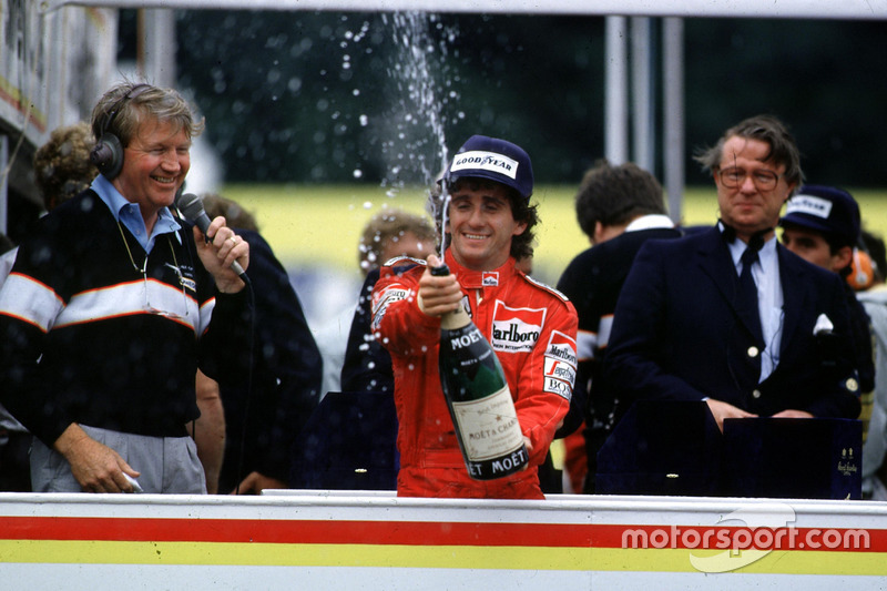 Alain Prost, McLaren fête son premier titre de champion du monde