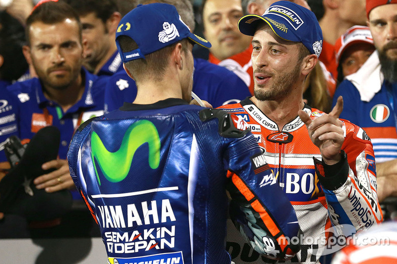 Sieger Maverick Viñales, Yamaha Factory Racing; 2. Andrea Dovizioso, Ducati Team
