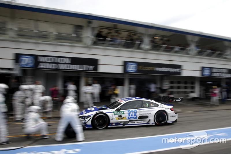 Pit stop, Maxime Martin, BMW Team RBM, BMW M4 DTM