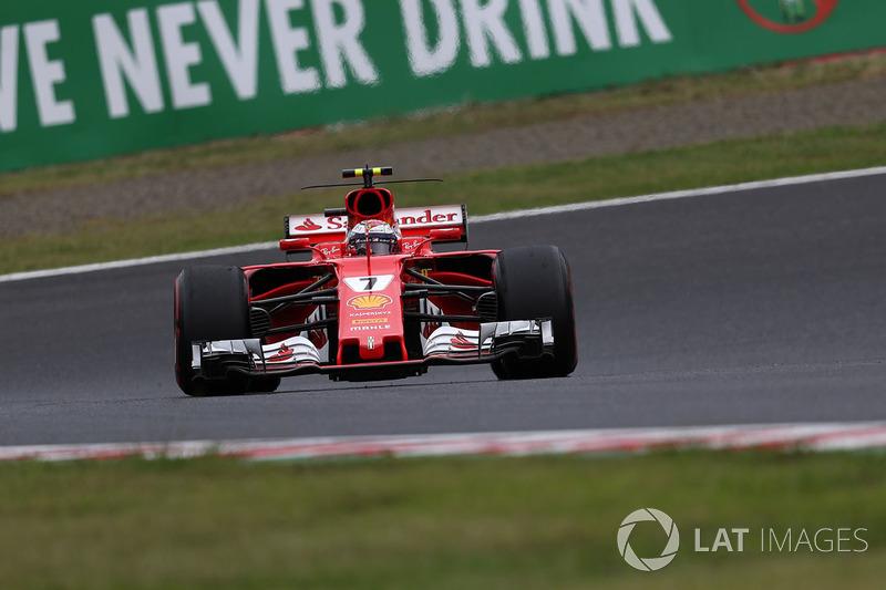 5. Кімі Райккнен, Ferrari SF70H — 83