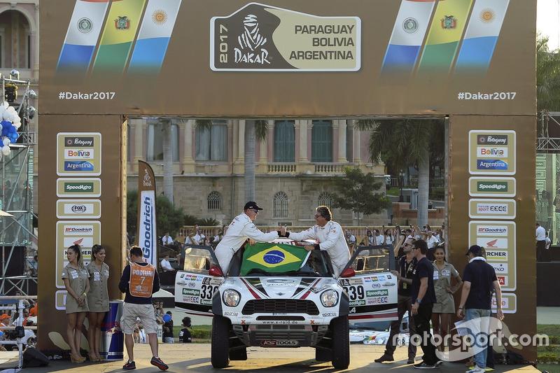 #339 X-Raid Team Mini: Sylvio de Barros, Rafael Capoani