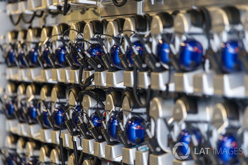 Scuderia Toro Rosso headsets