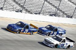 Austin Cindric, Brad Keselowski Racing Ford Chase Briscoe, Brad Keselowski Racing Ford Ryan Truex, Hattori Racing Enterprises Toyota