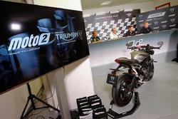 Triumph annunciato come fornitore di motori Moto2 dal 2019